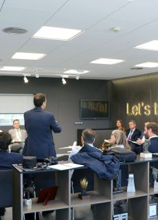 Members of AIRBUS DS and the PTA Aerospace Systems Cluster visit AERTEC Solutions headquarter