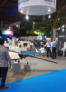 AERTEC Solutions' stand at S-MOVING 2019