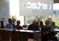 Visit from USA space companies and organizations to AERTEC Solutions.