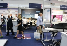 AERTEC Solutions at the Farnborough International Airshow, Hampshire (UK), Jul 2018