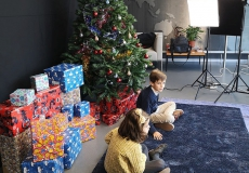 Filming of the 2018 Xmas video