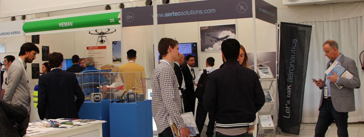 Presencia de AERTEC Solutions en UNVEX 2016