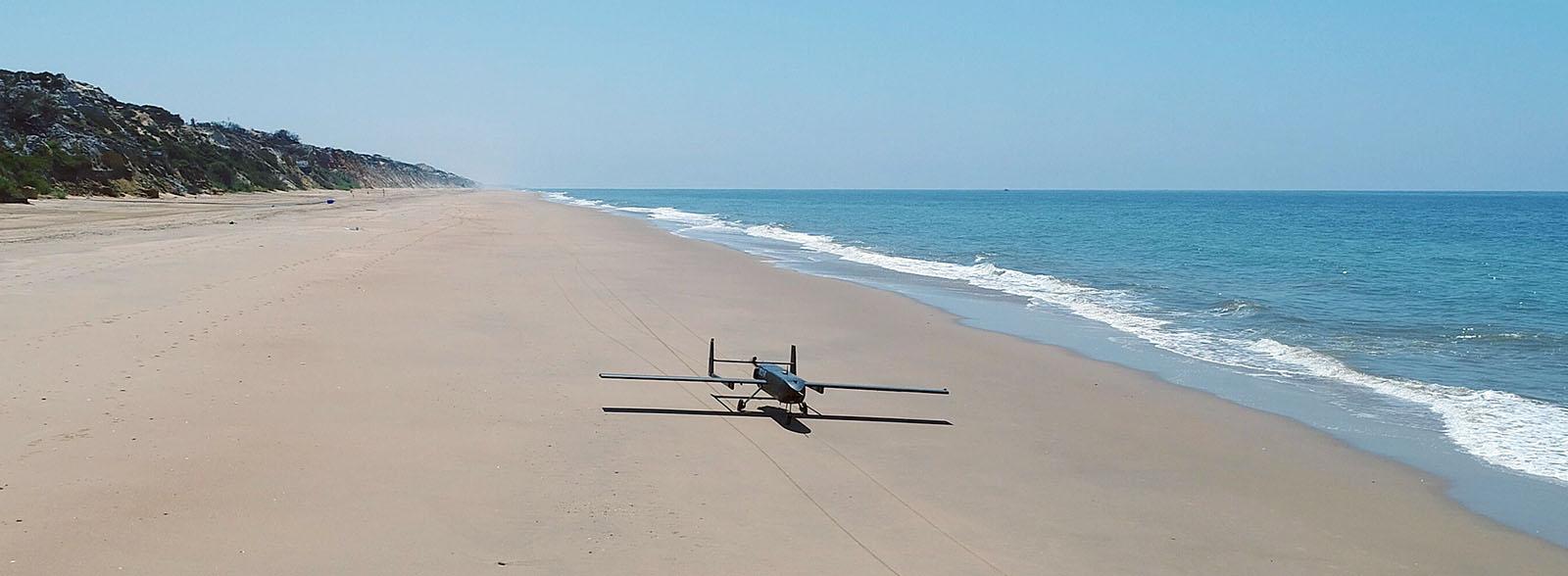 Operaciones con RPAS desde la playa