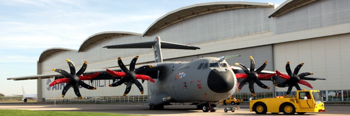 Airbus A400M FAL in Seville