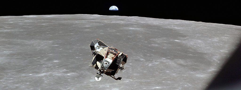Infografía 50 años de la llegada a la luna
