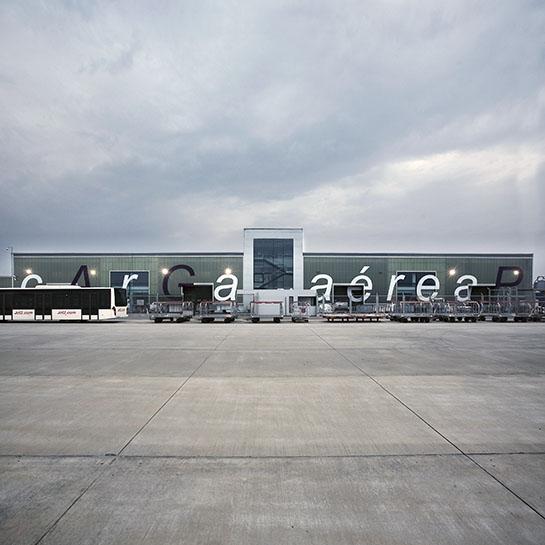 Malaga Airport Cargo terminal