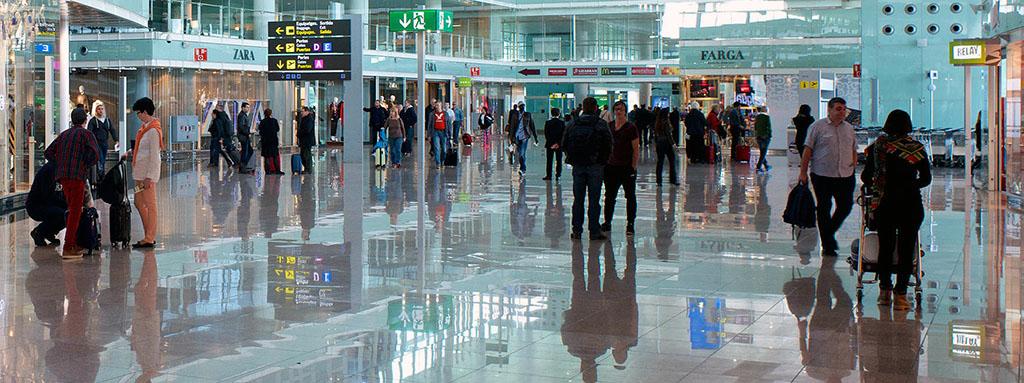 Barcelona airport - BCN