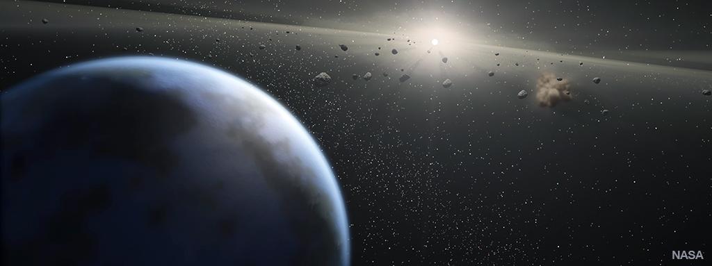 Exoplanets, image by NASA
