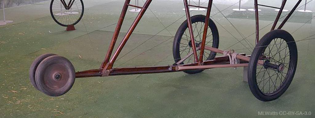 Old landing gear