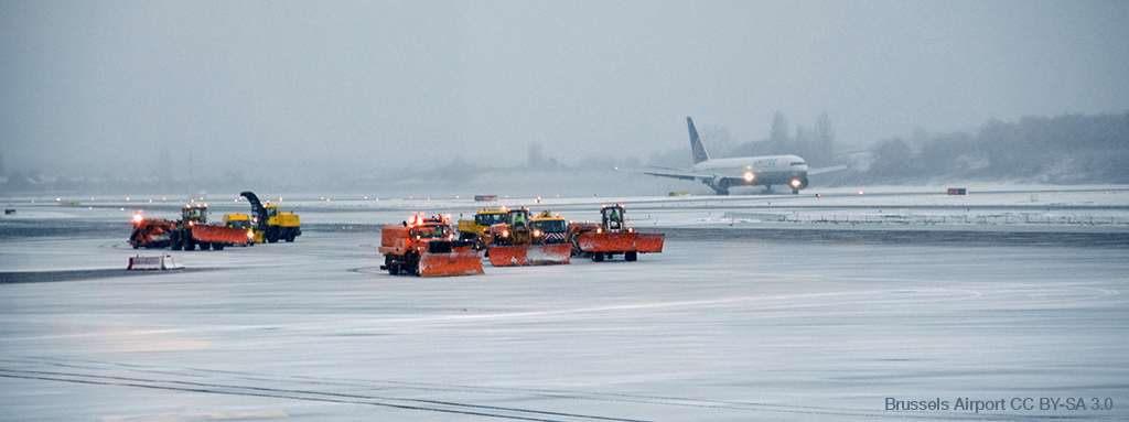 Brussels Airport winter operations