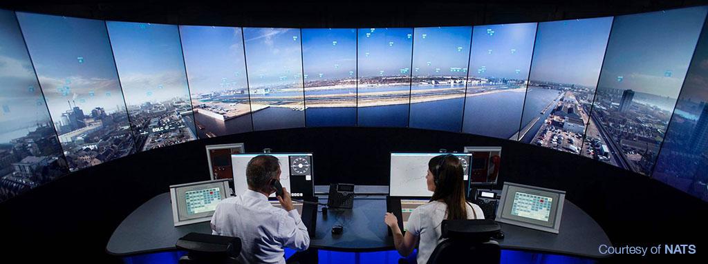 Servicios de control aéreo remoto