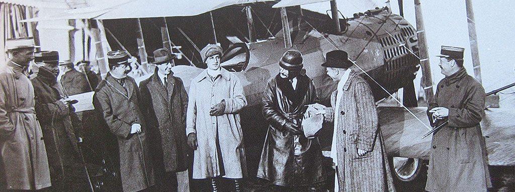 Banner centenario transporte aéreo España