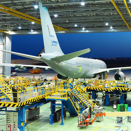 Servicios de utillaje para la industria aeronáutica