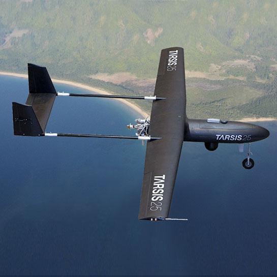 RPAS TARSIS 25 en vuelo