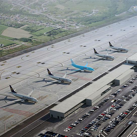 Airport Charleroi Masterplan