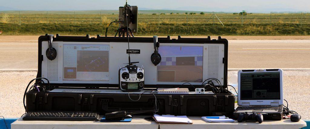 Sistema de control de tierra GCS