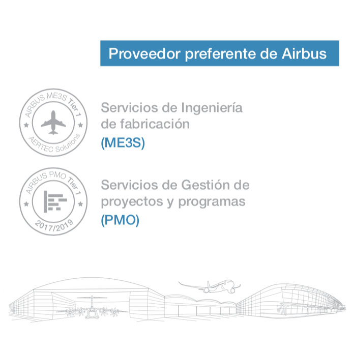 Proveedor preferente de Airbus