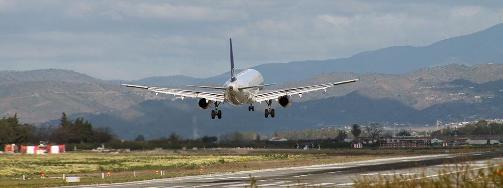 Ensayos en la industria aeronáutica - Aterrizaje