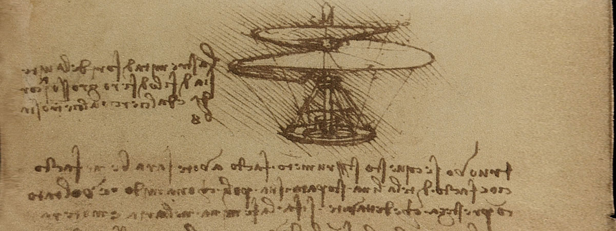 Leonardo da Vinci flying machines