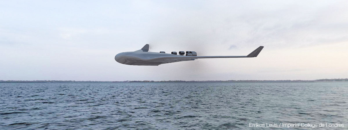 Conceptual seaplane Imperial College