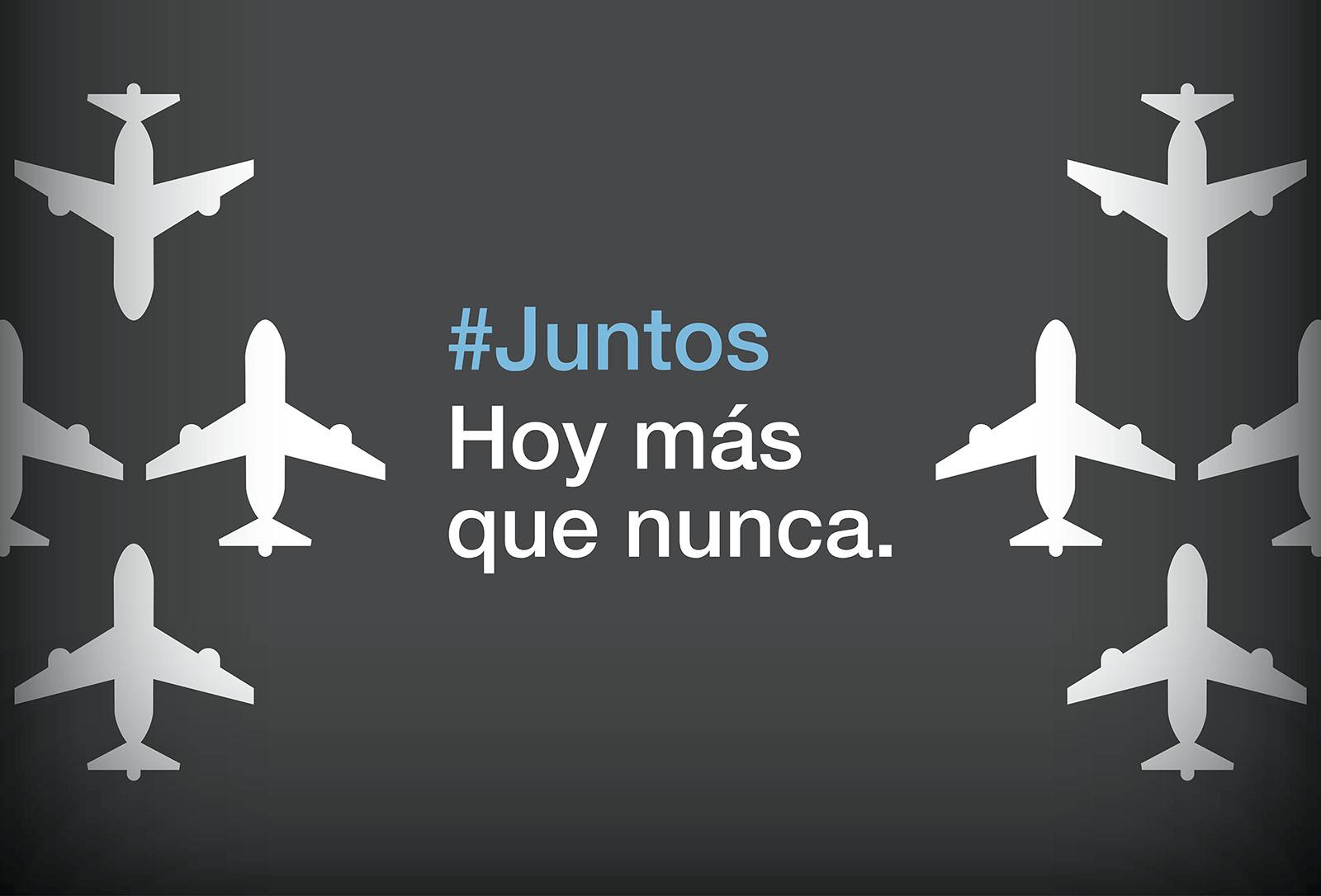 #Juntos hoy más que nunca