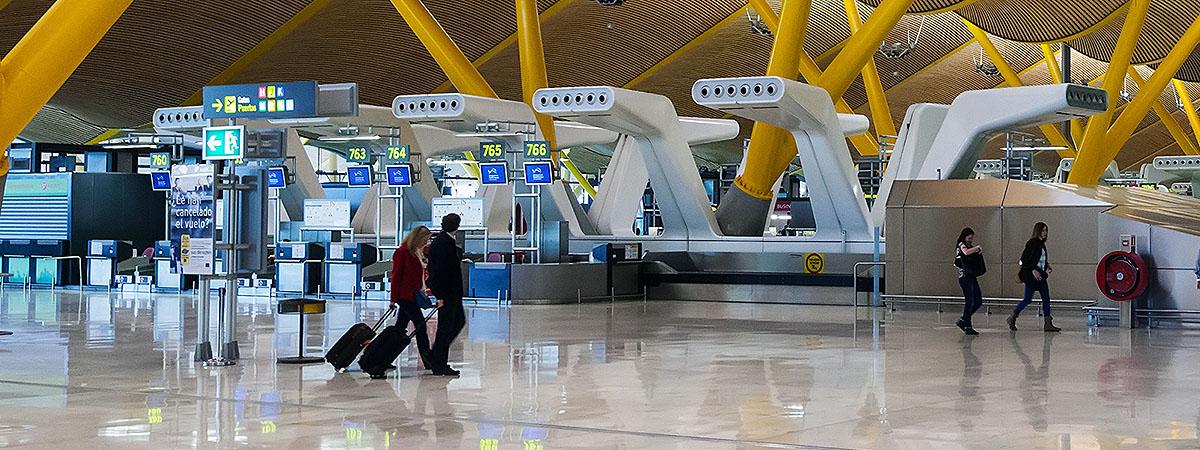 climatización terminales aeropuertos