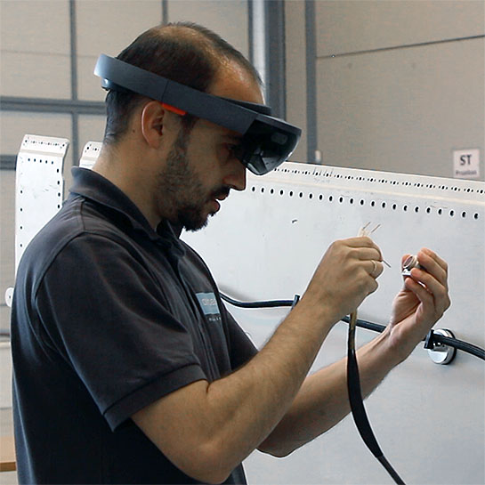 Industrial support AR / VR