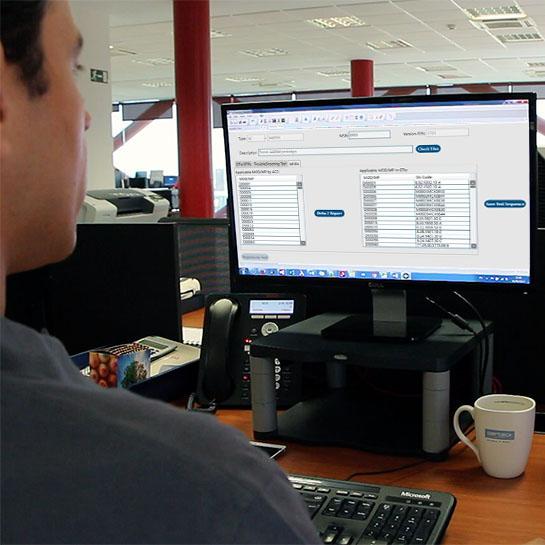 AERTEC Digitalizacion industrial Ingeniería de pruebas