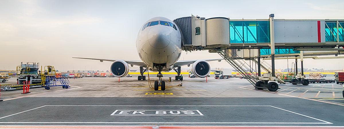 Pasarelas aeroportuarias