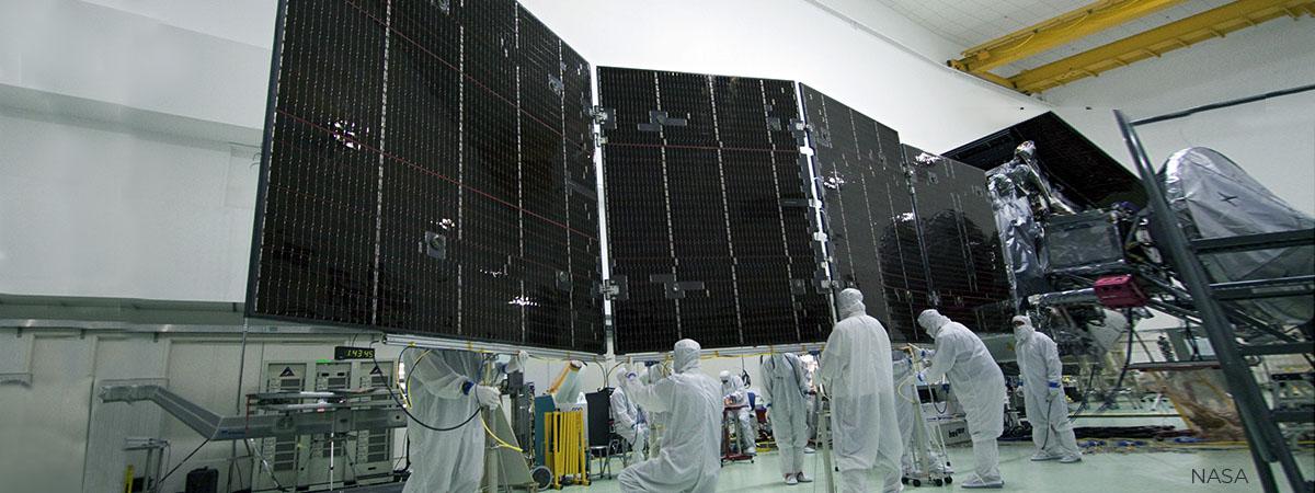 Origamis aeroespaciales / Foto NASA