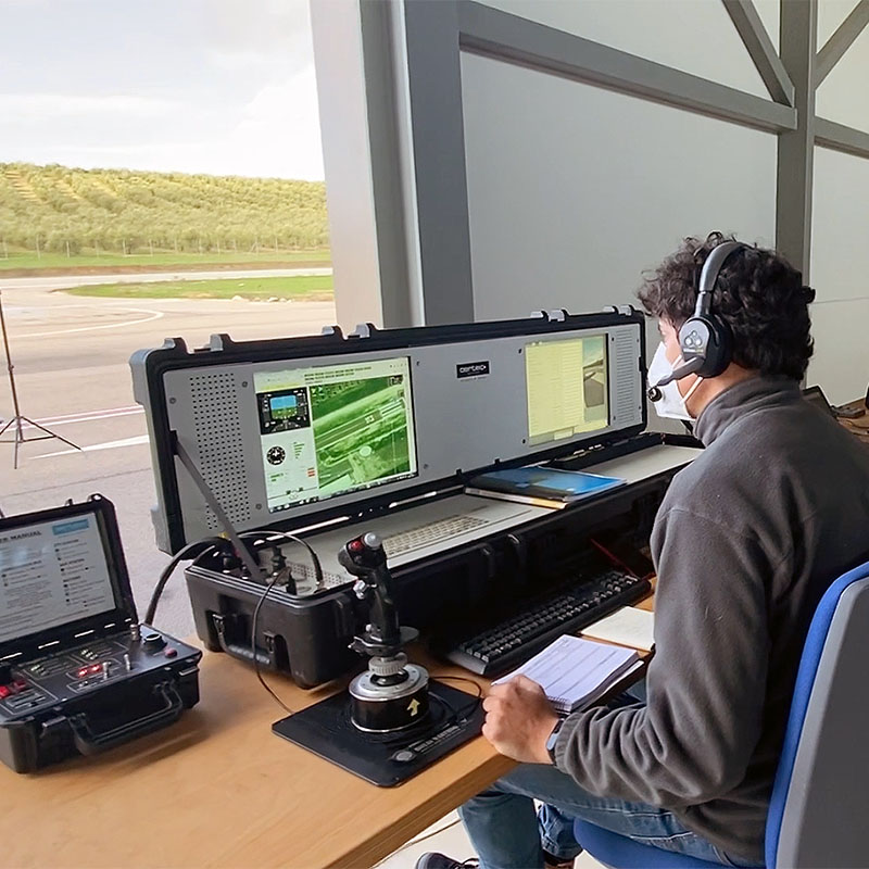 AERTEC UAS Ground Control System