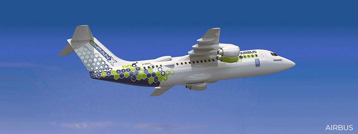 AIRBUS electric plane concept