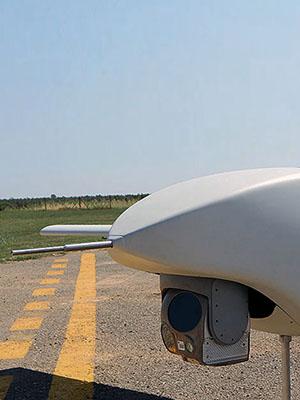Banner UAS laser designation